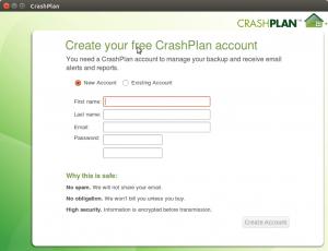 inicio sesion CrashPlan